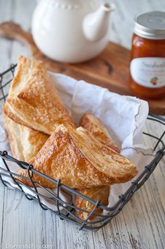 Peaches and Cream Turnovers. Only 4 ingredients and 15 minutes
