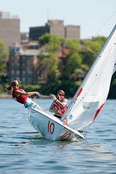 UW sailing team members at the Intercollegiate Sailing Association National Championships