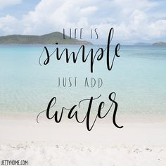 That's the secret! #beachquotes #beachlife #beachsayings #oceanquotes #coastalliving #tropicalquotes