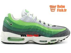 Nike Air Max 95 Premium Rejuvenation - Chaussure Nike Running Pas Cher Pour Homme Haricot Vert/Anthracite/Herbe 313516-301