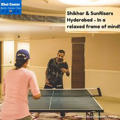 Shikhar & Sunrisers Hyderabad - In a relaxed frame of mind