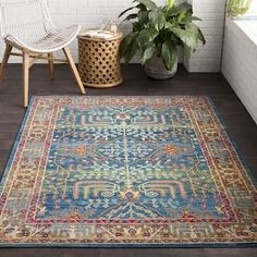 The Curated Nomad Alemany Classic Oriental Area Rug -...