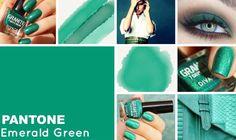 #coloroftheweek  Pantone 17- 5641 Emerald Green: il verde smeraldo è un punto di verde brillante e intenso come la famosissima pietra preziosa.  Colore da sempre associato alla saggezza, nel make-up è perfetto per intensificare gli occhi scuri o per regalare luminosità agli occhi chiari, se usato nella rima inferiore, Per le più intraprendenti, è bellissimo usato anche sulle labbra, specialmente sulle pelli chiare, per un effetto da vero elfo punk.