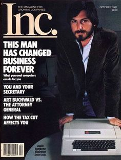 Why Steve Jobs was fired from Apple. Steve Jobs the superstar techie was fired from Apple when trouble hit in Apple and Steve Jobs didn't mix well, so Apple told Steve it was time to go. Apple Tv, Ronald Reagan, All About Steve, Steve Jobs Apple, Steve Wozniak, Business Magazine, Apple Products, Computer Science, Vintage Ads