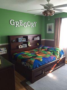 Teenage Mutant Ninja Turtles Bedroom set for Kids | Pizzafino | boys ...