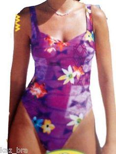 New Anita Lilac Swimsuit UK 12 C Cups Eur 40 Fr 42 Ladies Swimming Costume