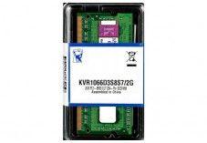Barette memoire kingston sodimm DDR3 1066MHz CL7 2Go