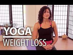 Yoga For Weight Loss - 20 Minute Fat Burning Work Out - YouTube