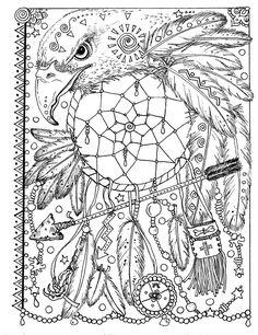 Animal Spirit Dreamcatchers Coloring Fun for all Ages.: Deborah Muller: 0641243892559: http://Amazon.com: Books