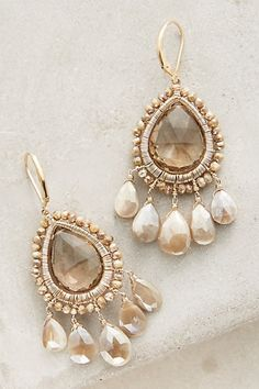 Shoreline Drops #anthropologie Jewelry designer Dana Kellin