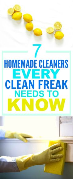 These 7 Easy Homemade Cleaners are SO GOOD! They've saved me A TON of money! I'm so happy I found this AWESOME post! I'm definitely pinning this for later so I don't forget ANY of them!