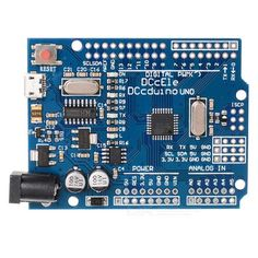 DCCduino UNO R3 Development Board for Arduino - Blue. CPU: ATMEGA328P-16AU (16MHz) - USB chipset: CH340G replaces the original ATMEGA16U2 - Interface: Micro USB (Universal for most of phones) - Micro USB cable is NOT included Features: - Completely solve the non-compatibility of traditional UNO boards in WIN 7/ WIN 8 - Pins design to use jumper wires conveniently. Tags: #Electrical #Tools #Arduino #SCM #Supplies #Boards #Shields