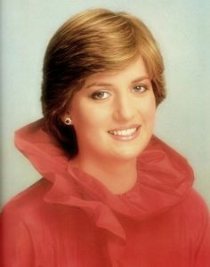 Diana, she looked so different in her early photos
