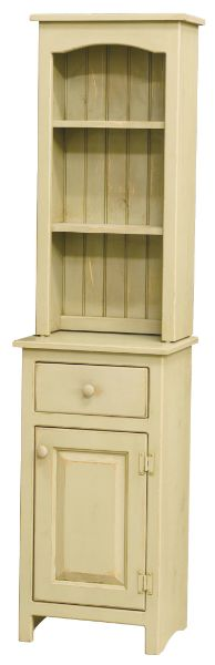 We have this Pine cabinet in our guest bath, but in the color Blue
