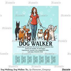 Dog Walking - Helpful Tips To Help You Train Your Dog - Best Dog Training Dog Walker Flyer, Walker Dog, Background Grey, Dog Walking Business, Easiest Dogs To Train, Dog Boarding, Dog Training Tips, Potty Training, Training Schedule