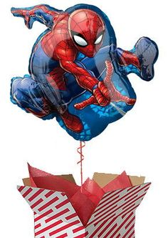 Our Large Spiderman Balloon is sent already filled with helium in a large candy stripe box. It will make a fun surprise gift for birthdays, get wells and other occasions. Order your inflated foil balloons online for fast UK delivery. Gifts For Boys, Fathers Day Gifts, Spiderman Balloon, Balloons Online, Candy Stripes, Foil Balloons, Surprise Gifts, Birthday Gifts, Birthdays
