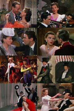Easter Parade (1948), directed by Charles Walters. A rich and colorful Irving Berlin musical with a typically negligible plot: Judy Garland loves Fred Astaire who loves Ann Miller who loves Peter Lawford who loves Judy Garland... It's something of a Pygmalion plot packed with singing and dancing. Nothing to do with Easter.