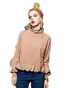 Elf Sack Girls Autumn High Neck Cotton Ruffle Blouse Came... https://www.amazon.com/dp/B01IVO68BQ/ref=cm_sw_r_pi_dp_kHwLxbSQNBH52