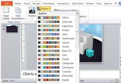 Free Animated 3D Cube Template for PowerPoint