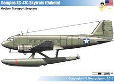 http://moderndrawings.jexiste.be/WW2Drawings/Files/2-Airplanes/Allies/1-USA/06-Transport/C-47Dakota/XC-47C.htm