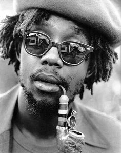 Peter Tosh was a Jamaican reggae musician. Along with Bob Marley and Bunny Wailer, he was one of the core members of the band the Waile. Peter Tosh, Dancehall Reggae, Reggae Music, Rasta Music, Reggae Concerts, Dub Music, Drake, Jah Rastafari, Beauty