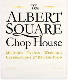 The Albert Square Chop House Logo