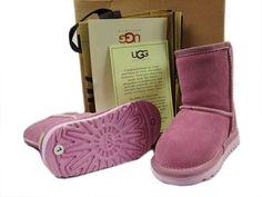 UGGのキッドクラシックショート5251 ピンク