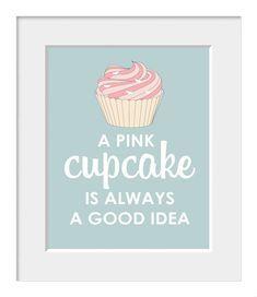 A Pink Cupcake Is Always A Good Idea