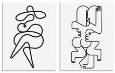 Jonathan Calugi, un ilustrador minimalista | Singular Graphic Design