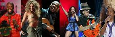 Shakira, Santana, Wyclef, and Brazilian stars Carlinhos Brown, Alexandre Pires and Ivete Sangaloto, to perform at the world cup 2014 closing ceremony. #worldcup2014 #brazil #soccer #music #kiza #dubai