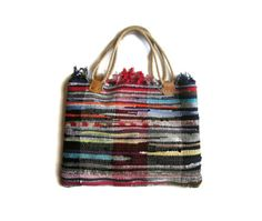 Bohemian kilim bag shopper