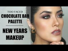 Another Too Faced Chocolate Bar palette tutorial + New Years Makeup Inspo | Melissa Alatorre - YouTube