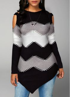 Buy Sweaters And Cardigans Online, Cardigan Sweaters For Women, Ladies Sweaters Cardigans Cardigan Sweaters For Women, Cardigans For Women, Ladies Sweaters, Trendy Tops For Women, Stylish Tops, Cold Shoulder Sweater, Pullover, Sweater Fashion