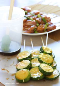 I love these Japanese inspired grilled chicken and zucchini skewers marinated with yakitori sauce and threaded onto bamboo sticks with green onions. They are perfect as an appetizer if you're having a backyard bash this summer, or you can turn it into a meal any night of the week served with rice, salad or more vegetables.  Yakitori reminds me of my college days in Soho living on a student budget. Me and my BFF Gabbie used to meet 3 to 4 times a week after class at this cute little Japanese…