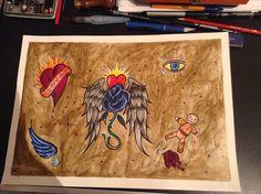 Spyros art tattoo zakynthos Greece