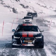 New #Audi #RS6 Polar edition paving the way oooo @fabianwester oooo #audidriven…