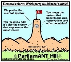 ParliamANT Hill: Electoral reform: Which party would benefit most?