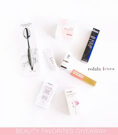 A Beauty Giveaway to Celebrate My Blog Anniversary