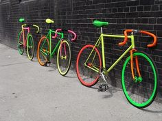 #bycicle #ride #fluo architecture