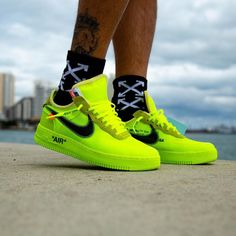 "size 40 70b27 3eea0 Off-White X Nike Air Force 1 ""Volt"