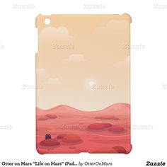 "Otter on Mars ""Life on Mars"" iPad Case"