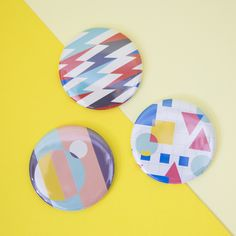 Mini Pocket Mirrors by Dicky Bird