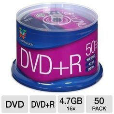 Color Research Cake Box DVD+R 50-Pack by Color Research. $13.99. Color Research Cake Box DVD+R 50-Pack - 50-Pack, 16X, 120 mins, 4.7GB