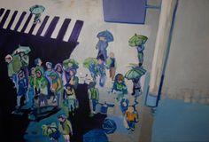 Zuzanna Walas, Deszczowy uciekinier, 2012 #art #contemporary #artvee