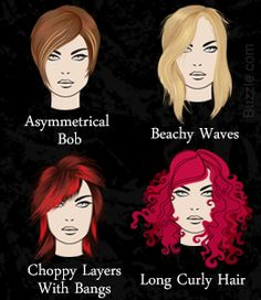 Hairstyles for Triangular-shaped Face