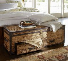 Remi Blanket Box-what a beautiful accessory