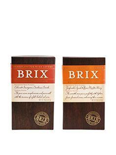 Brix Chocolate for Wine Pairing - Medium Dark Chocolate - http://bestchocolateshop.com/brix-chocolate-for-wine-pairing-medium-dark-chocolate/
