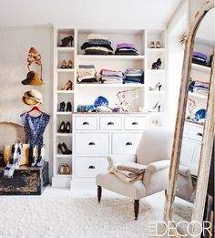 How to decorate based on your fashion sense. Love ideas and this visual made me swoon.
