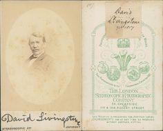 David Livingstone, médecin et explorateur    #CDV #portraits #Hommes_politiques