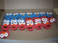 Cupcakes for the children at the party.
